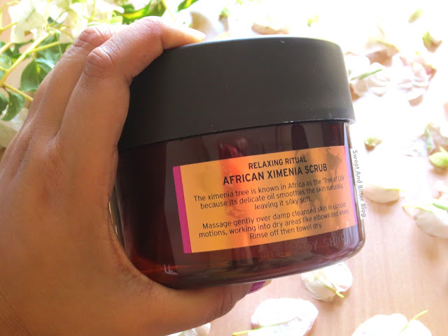 The Body Shop Spa of the World African Ximenia Body Scrub Review
