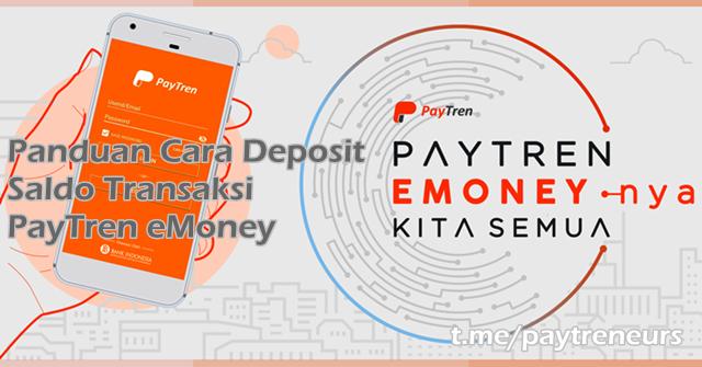 Panduan Cara Deposit Saldo Transaksi PayTren eMoney