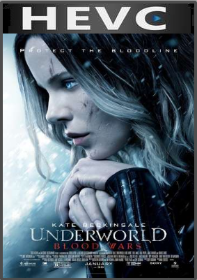 Underworld Blood Wars 2016 Hindi Dual Audio 130MB Web-DL HEVC Mobile