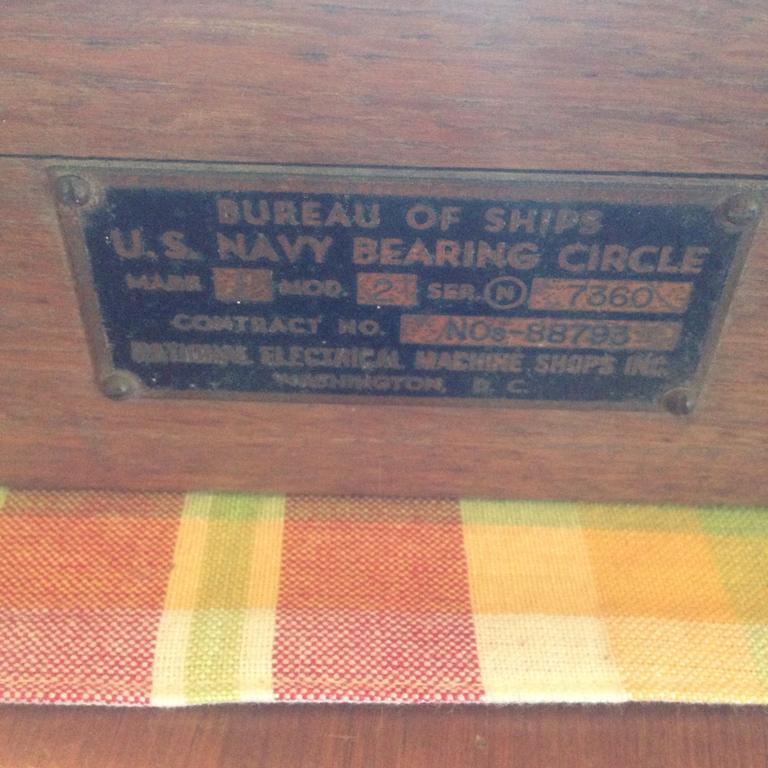 WWII Bearing Circle Serial No.