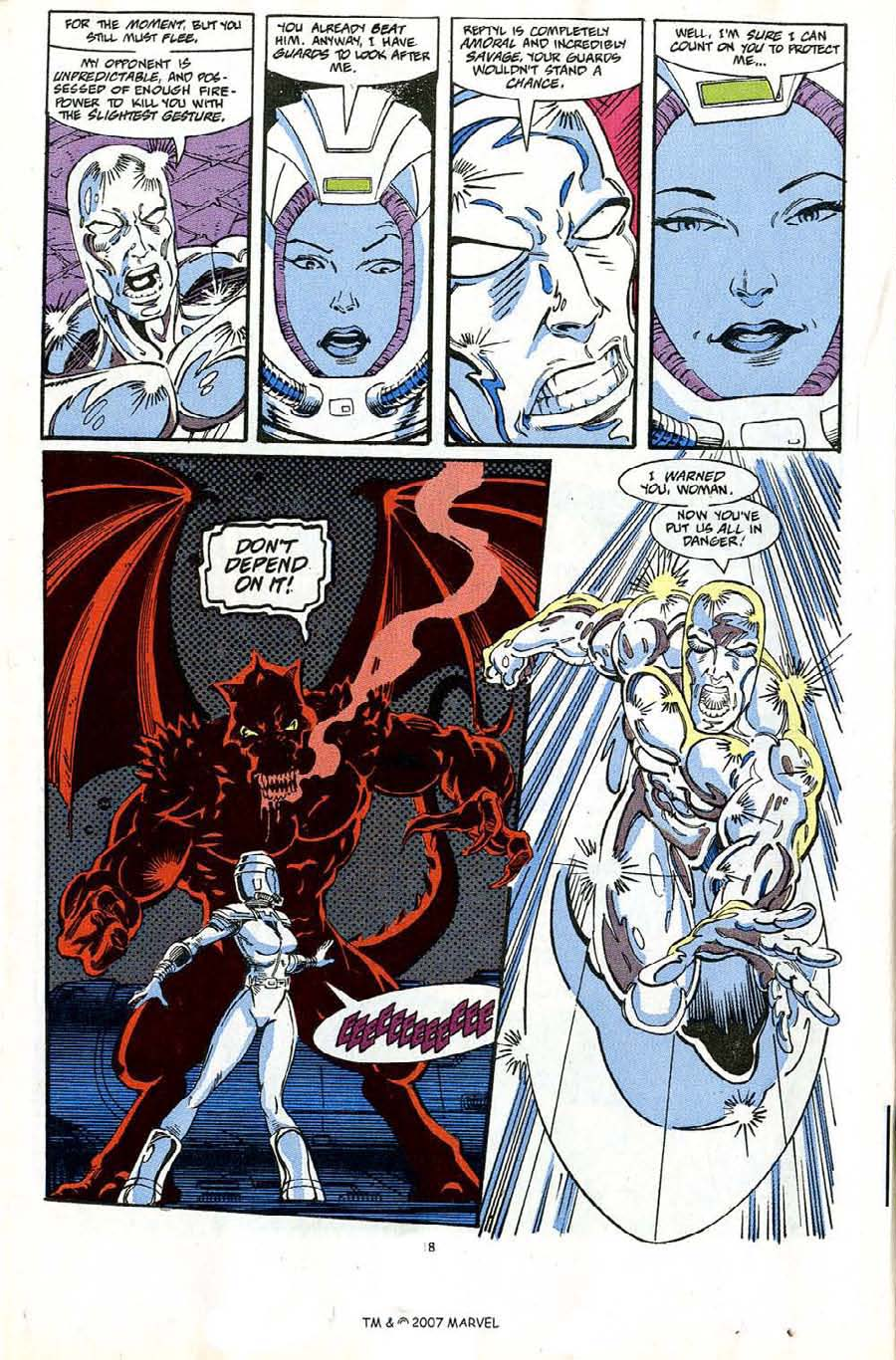 Read online Silver Surfer (1987) comic -  Issue #65 - 20