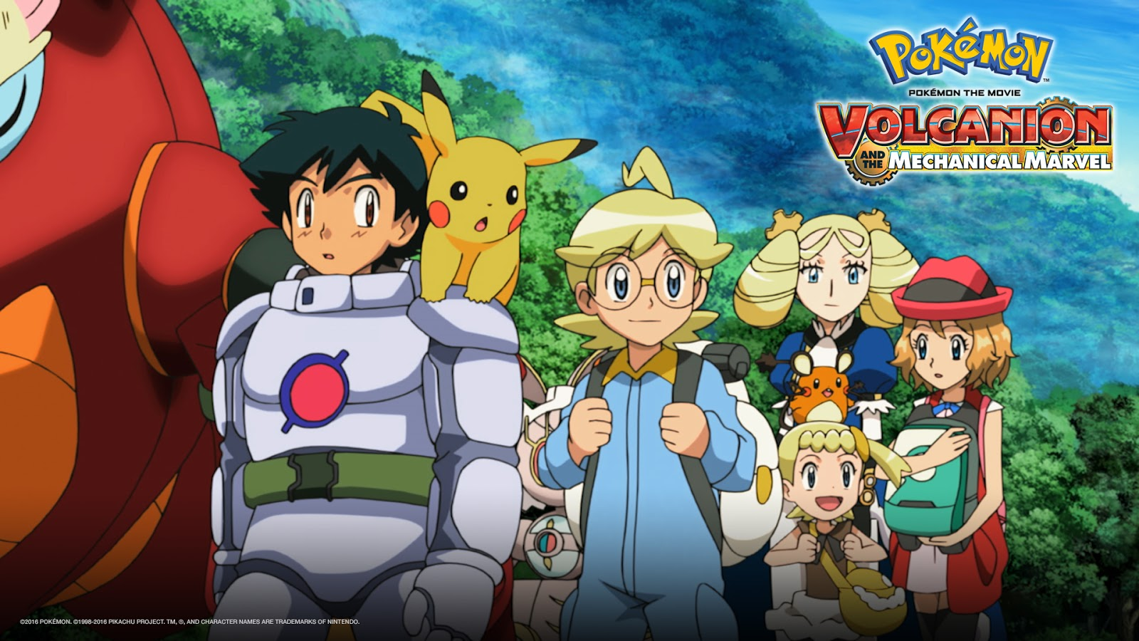 Manga Bring Pokemon Volcanion And The Mechanical Marvel To The