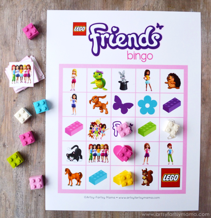 Free Printable LEGO Friends Bingo at southhe-load.tk LEGO Friends Bingo includes all of your favorite characters from LEGO Friends, as well as different color bricks and adorable pets!! In the bingo set, there are eight different bingo cards, so it's easy to print and use for your parties.