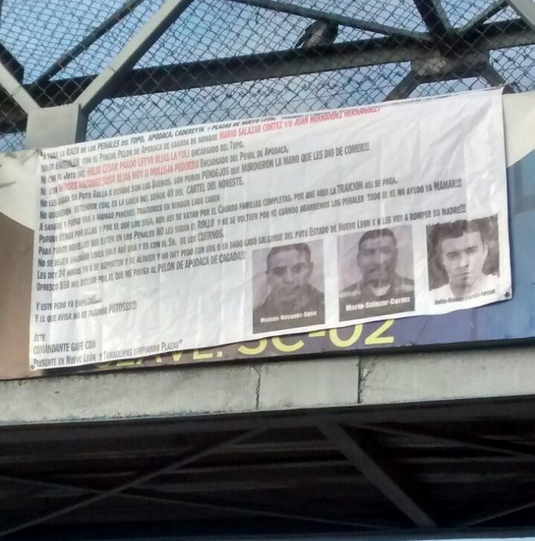 """CON NARCOMANTAS RESPONDE """"CARTEL del NORESTE"""" a la MAMADA que obligaron a hacer a """"El Muletas"""" en PENAL de N.L"""