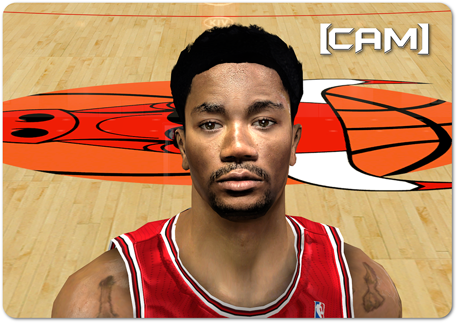 NBA 2K14 D. Rose Hair Update 2014-15