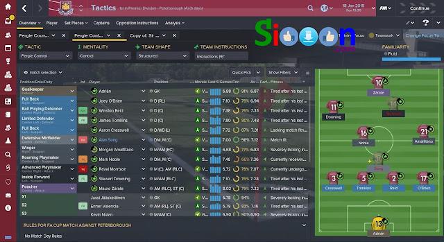 Gimana sih Gameplay Football Manager Lengkap ?