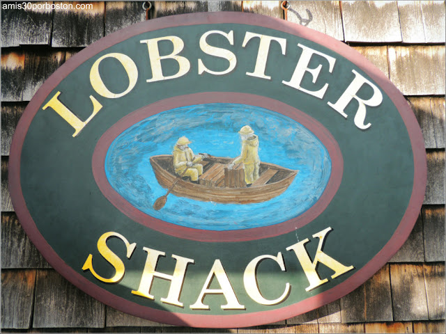 Lobster Shacks en la Costa Sur de Maine: Lobster Shack en Perkins Cove