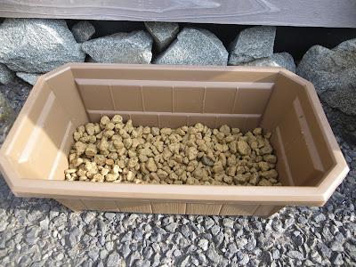 鉢 プランター 底石