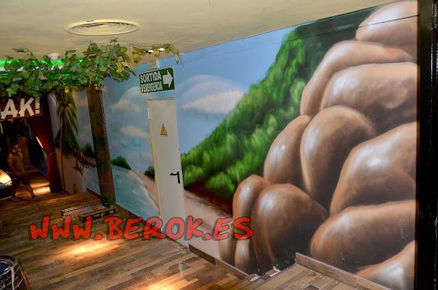 decoración murales para discotecas