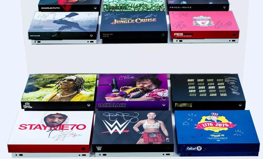 Xbox-personalizzate-asta-Microsoft