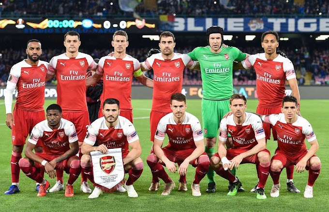 Arsenal Berharap Juara di Eorupa league cup 2018/2019