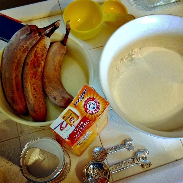 Baking banana cake #bananacake #baking