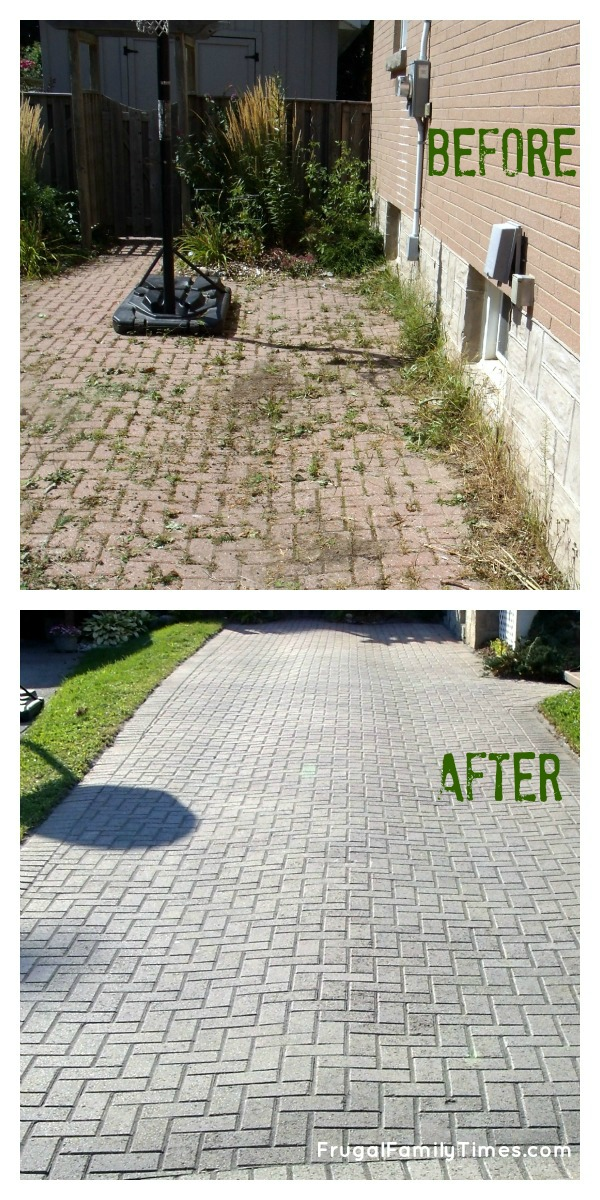 How To Make A Weed Free Brick Driveway That Stays That