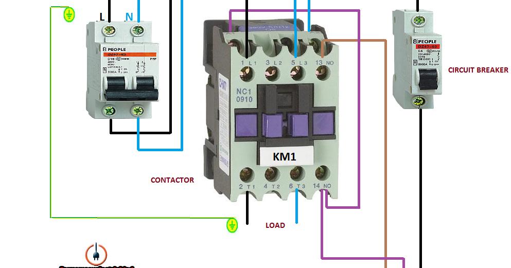 Electrical diagrams: EARTH LEAKAGE CIRCUIT BREAKER