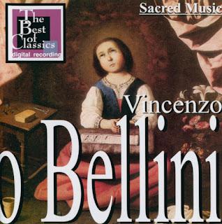 Musica Sacra Inedita: Vincenzo Bellini: Messa in la minore
