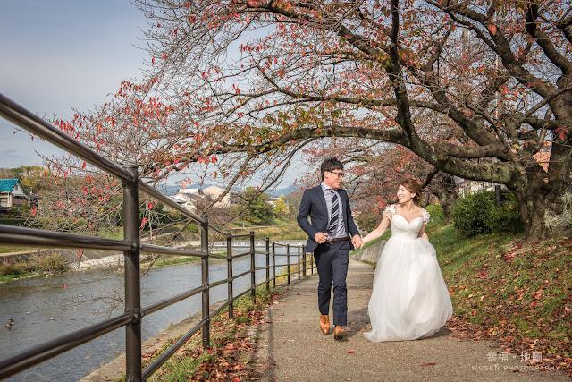 婚紗, 鴨川, 京都