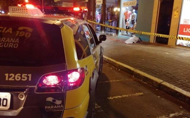 Jovem é cruelmente assassinado na área central de Campo Mourão