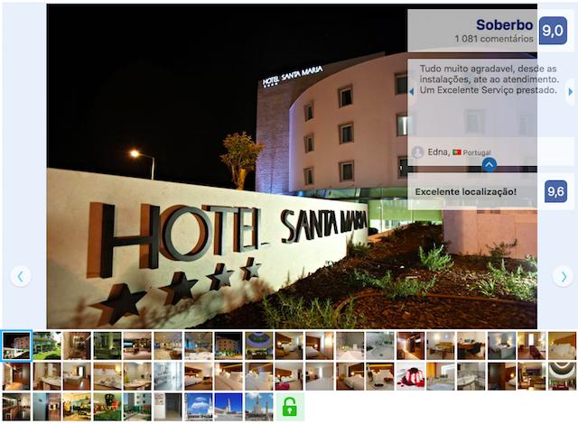 Hotel Santa Maria em Fátima