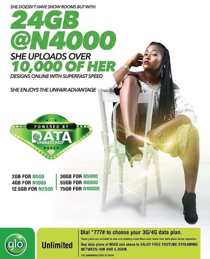Glo Has Increase Their Data Plans Yet Again: N1000 For 4GB