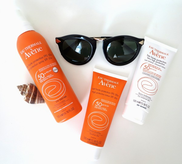 Avène sunscreens offer SPF 50+ broad spectrum protection, with a light texture and formula suitable for sensitive skin.