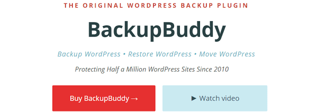 backup buddy is the best wordpress backup plugin which is essential for a wordpress blog
