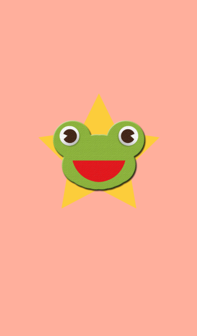 Frog that can become bright