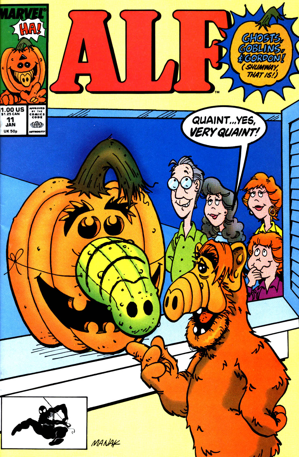 Read online ALF comic -  Issue #11 - 1