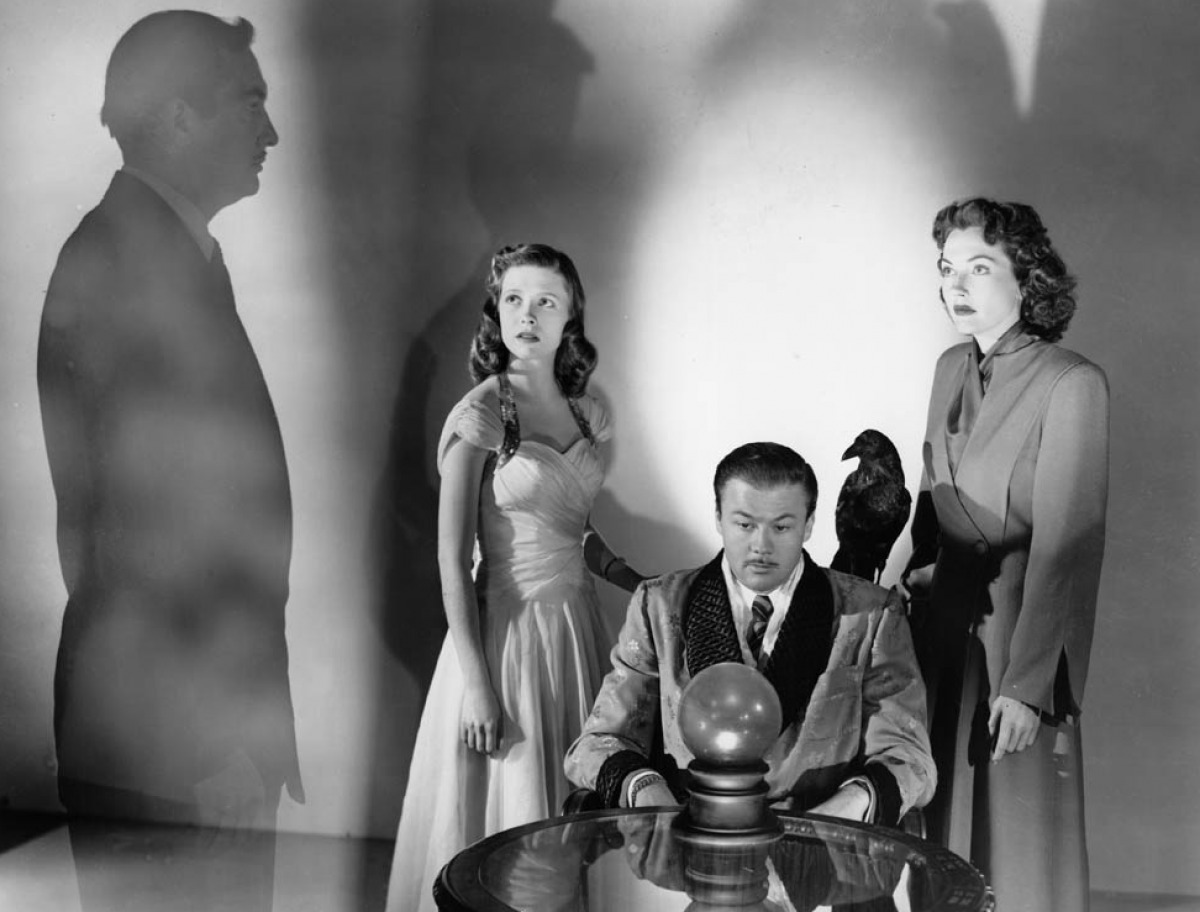 The Amazing Mr.X - 1948 - Protagonistas