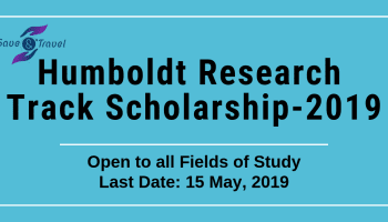 Humboldt Research Track Scholarship for Ph.D.