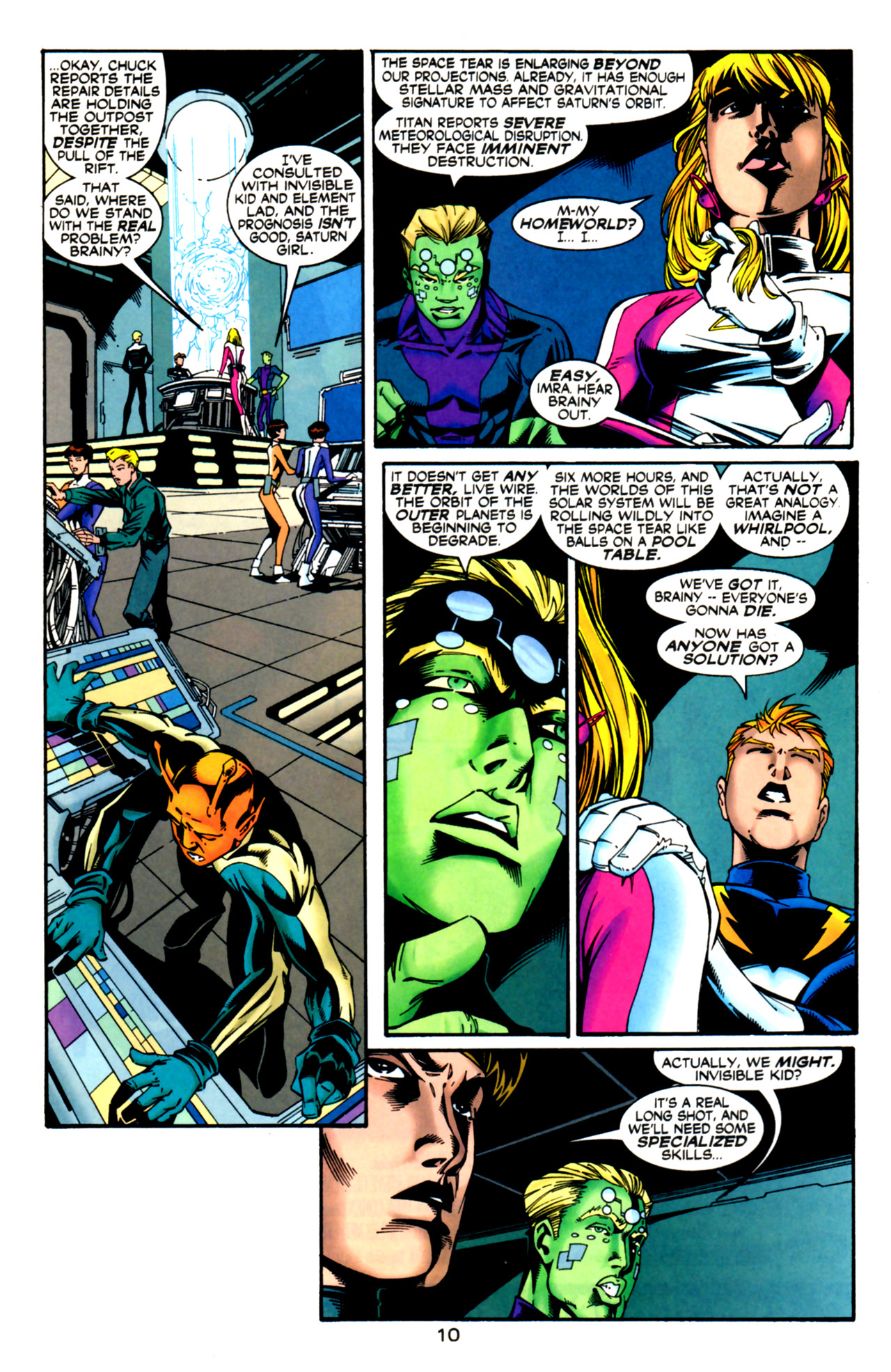 Legion of Super-Heroes (1989) 125 Page 10
