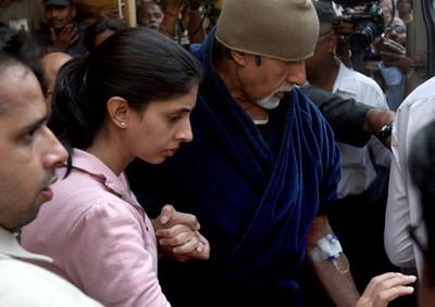 अमिताभ बच्चन मुंबई के लीलावती अस्पताल में भर्ती कराए गए