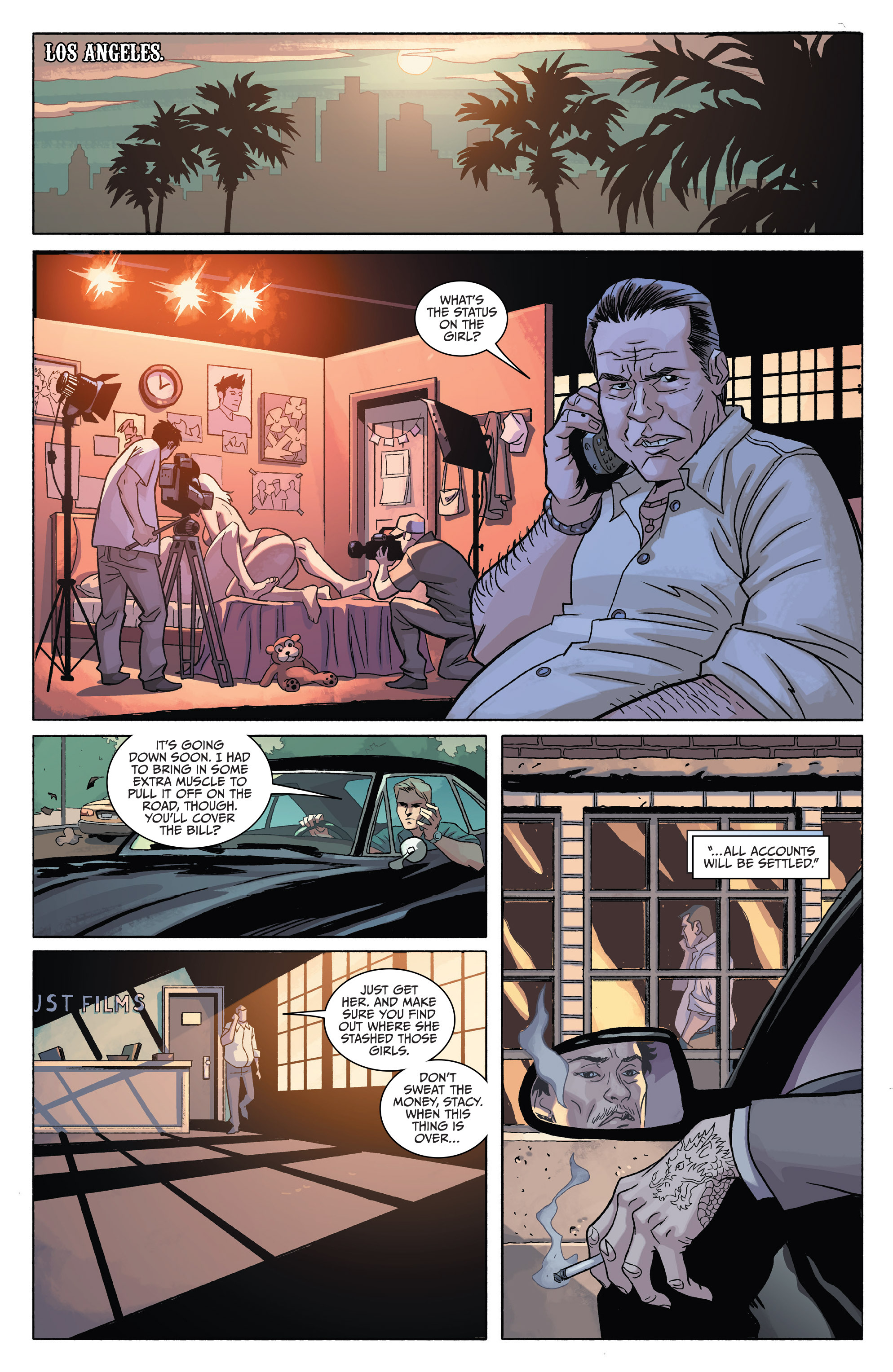 Read online Sons of Anarchy comic -  Issue #4 - 17