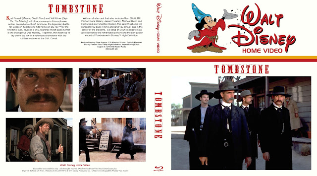 Tombstone Bluray Cover