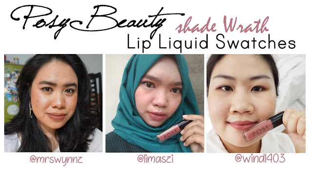 [REVIEW] Posy Beauty Lipstick Matte Shade Wrath