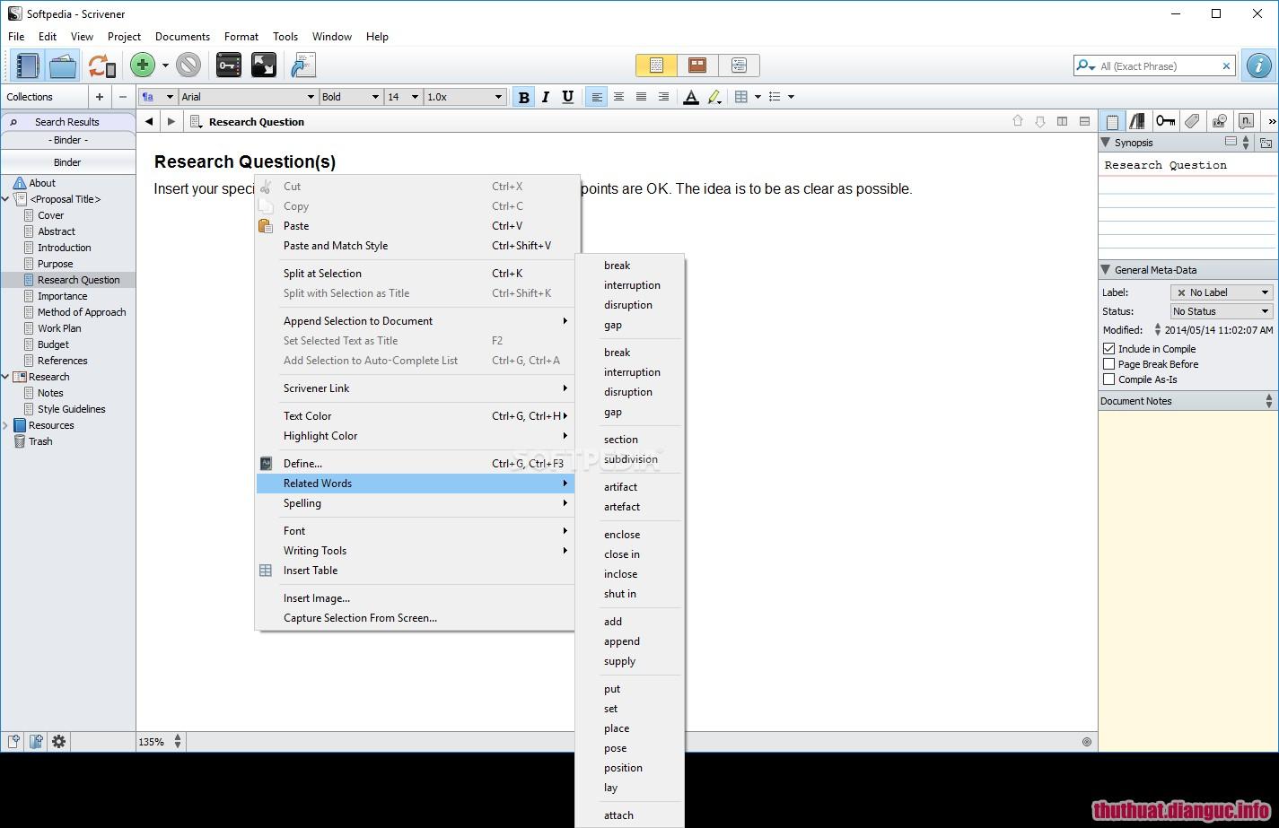 Download Scrivener 1.9.8.0 Full Cr@ck – Công cụ soạn thảo mạnh mẽ