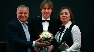 Croatia's Luka Modric wins Men's Ballon d'Or award 2018