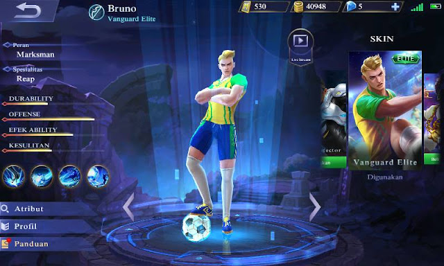 Guide bruno mobile legends