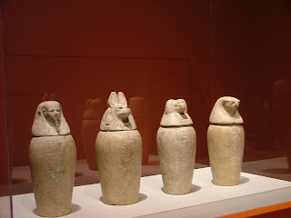 canopic jars in egypt