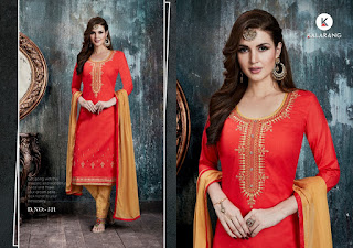 Kalarang Sunshine vol 3 Cotton Suits