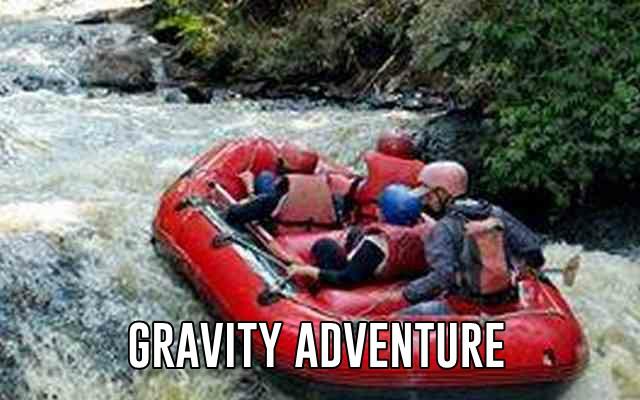 rafting di pangalengan bandung gravity adventure