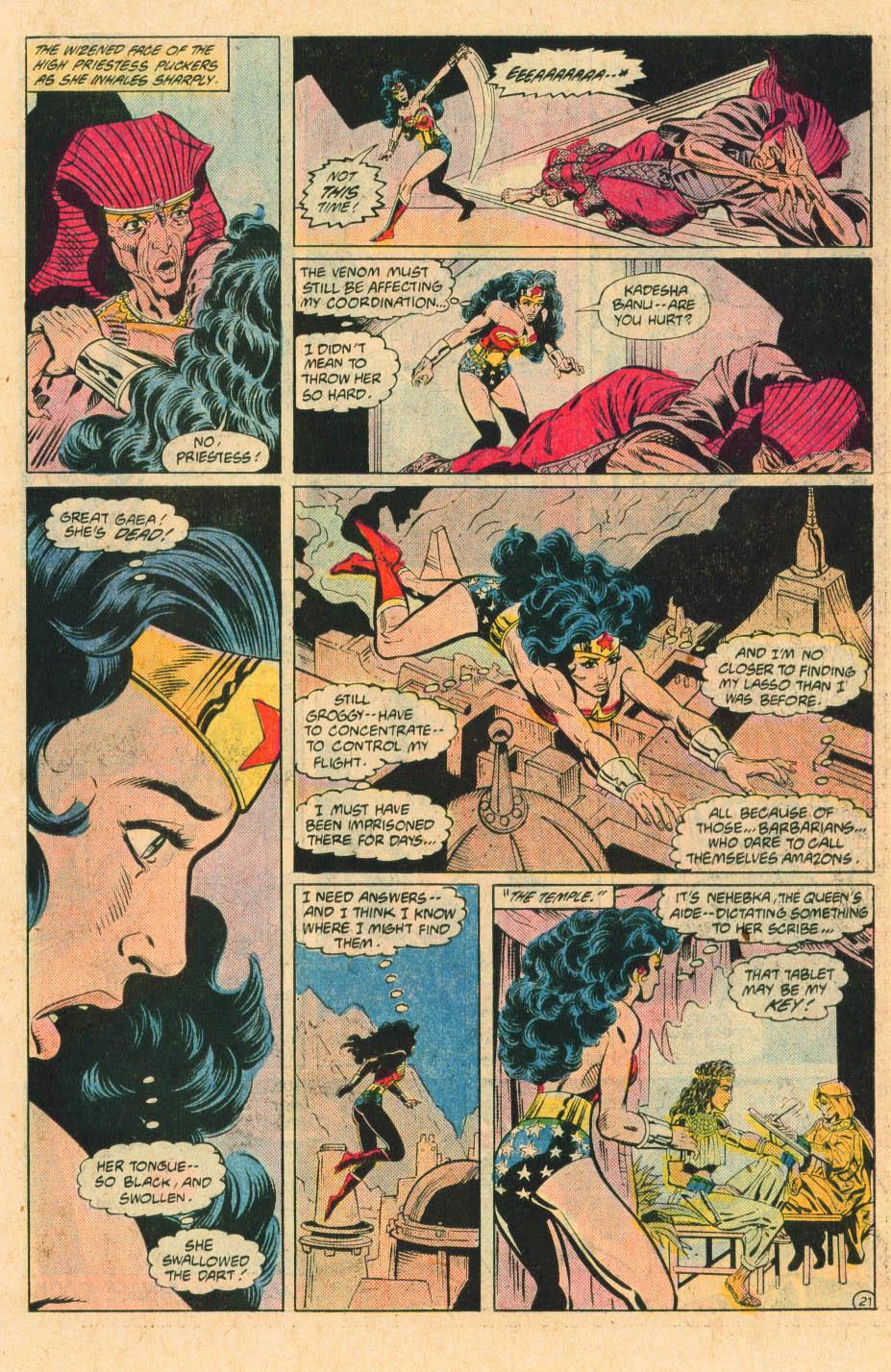 Read online Wonder Woman (1987) comic -  Issue #30 - 23