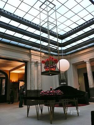 Hotel de Rome decoración navideña