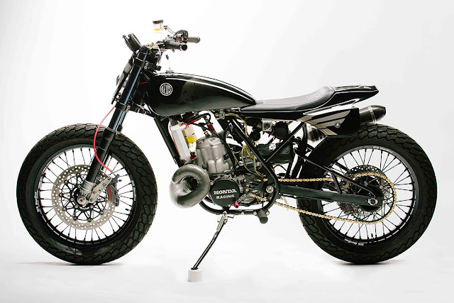 Honda CR500 By Deus Ex Machina Hell Kustom