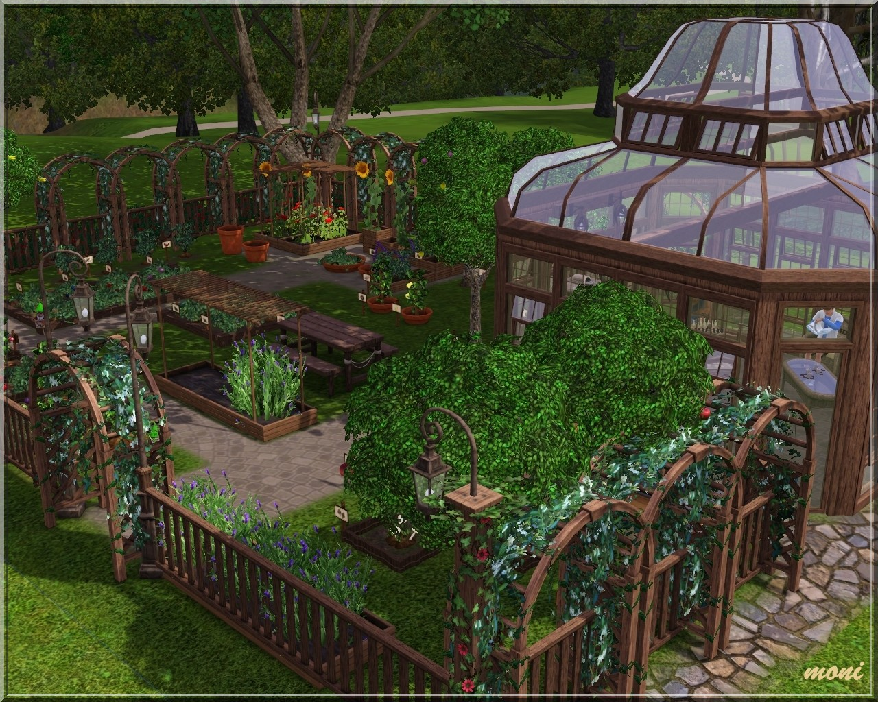 Sims 3 Garden Furniture Garden And Home Ideas Induced Info