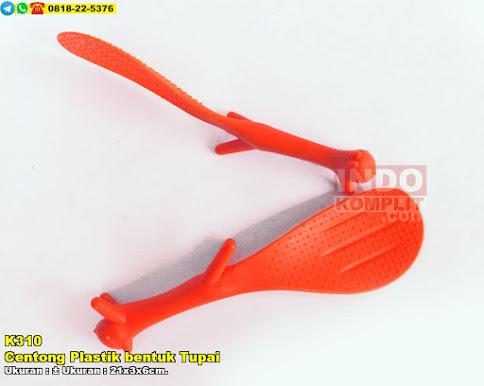 Centong Plastik bentuk Tupai