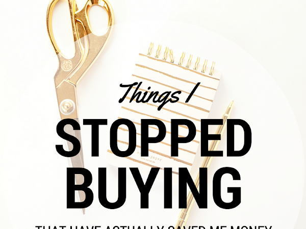 Things I Stopped Buying To Save Money