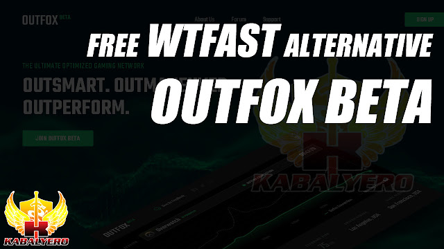 Free WTFast Alternative • Outfox Beta