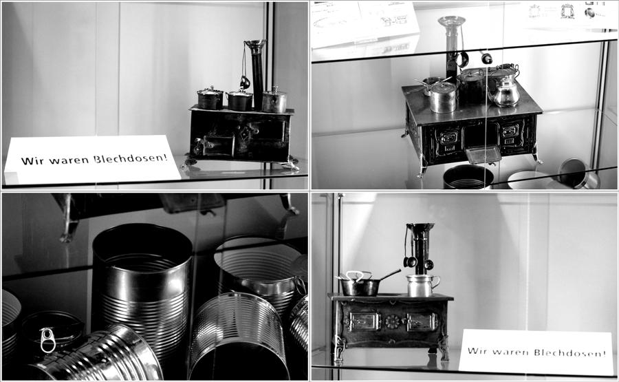 Blog + Fotografie | fim.works | Nachtansichten Bielefeld | Anstalt Bethel | Ausstellung BroSa | Collage alte Puppenküchen aus Blechdosen