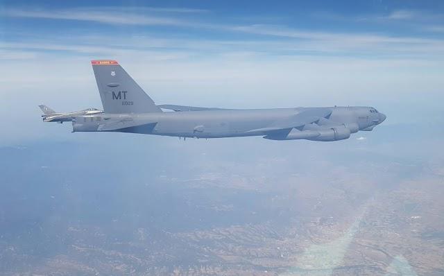 Μόνο Ελληνικά F-16: Οι ΗΠΑ γύρισαν την πλάτη στην Τουρκία-Νέα συνοδεία Β-52 (ΦΩΤΟ-ΒΙΝΤΕΟ)