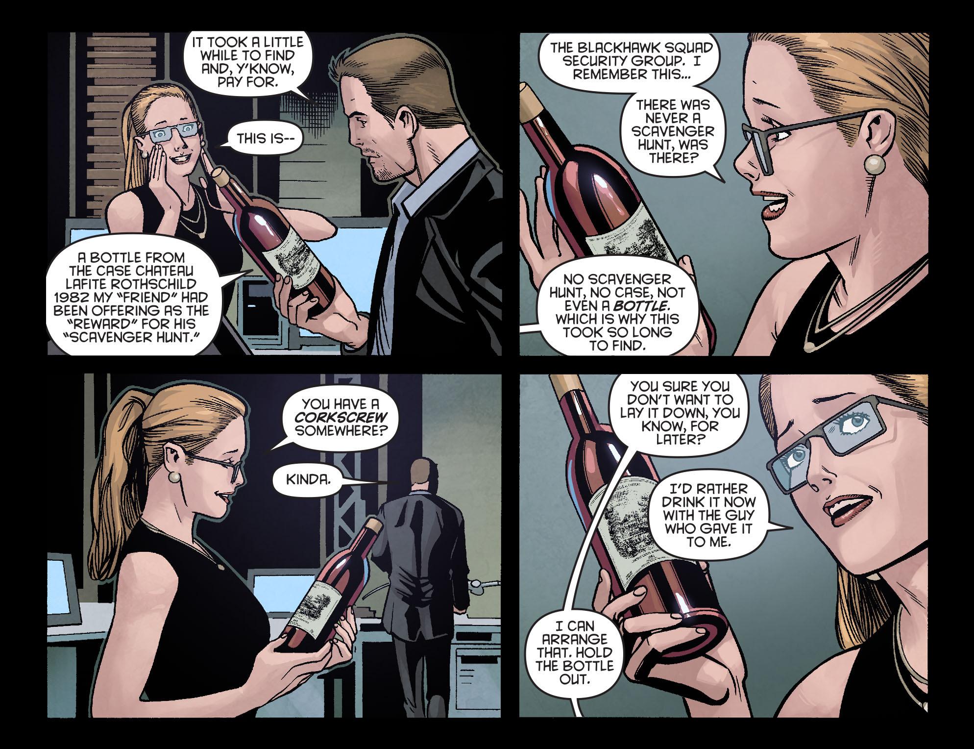 Read online Arrow: Season 2.5 [I] comic -  Issue #16 - 21